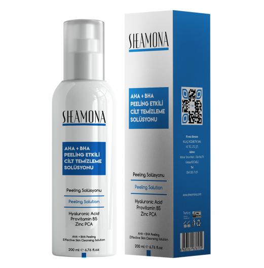 AHA+BHA Peeling Etkili Cilt Temizleme Solüsyonu 200 ml